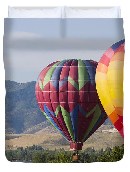 Tandem Balloons Duvet Cover