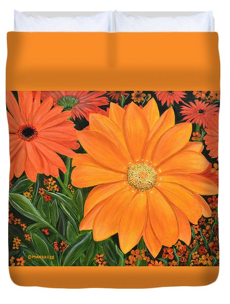 Tangerine Punch Duvet Cover