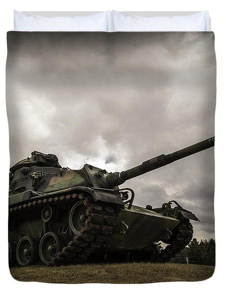 Tank World War 2 Duvet Cover