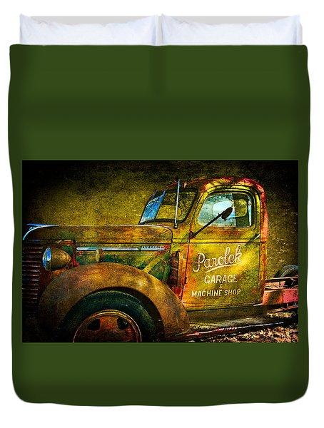 Taos Chevy II Duvet Cover