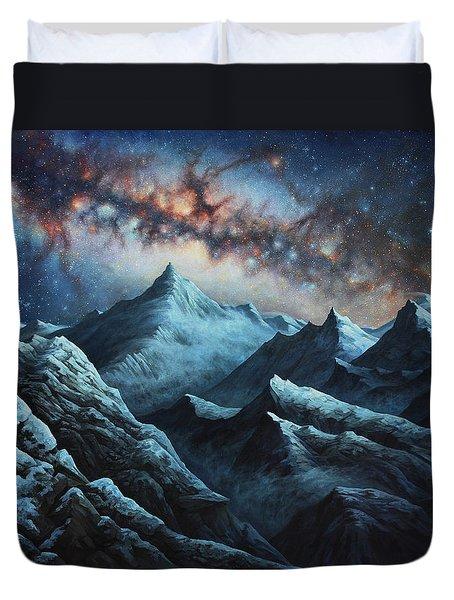 Tapestry Of Time Duvet Cover