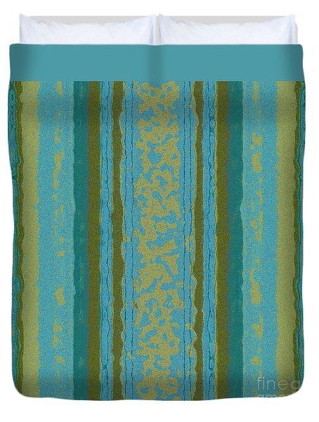 Tapeten-wallpaper-art-bluegreen Duvet Cover