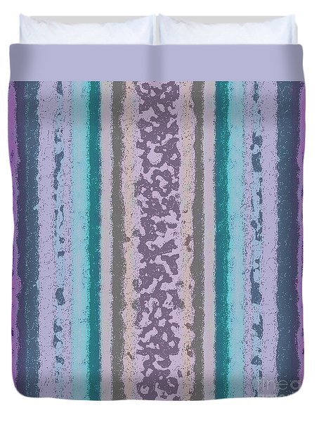 Tapeten-wallpaper-art-violetmix Duvet Cover