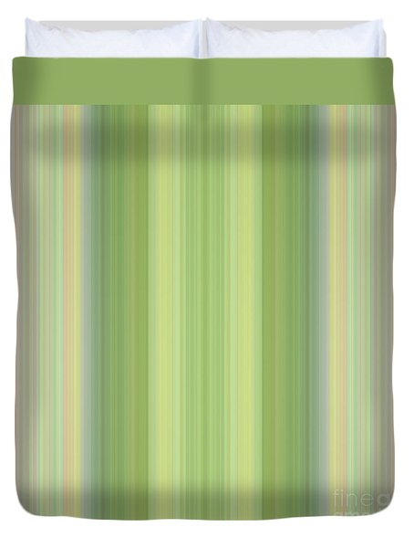 Tapeten-wallpaper-green-mix Duvet Cover