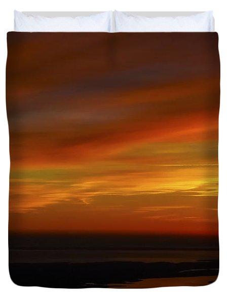 Rappahannock Sunrise II Duvet Cover