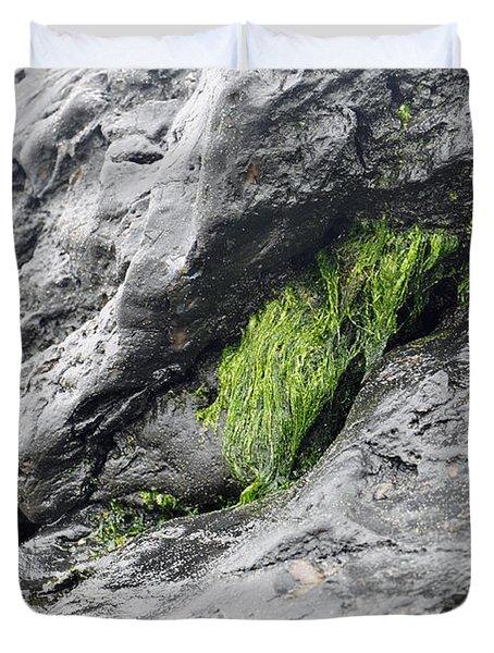Duvet Cover featuring the photograph Tar  by Minnie Lippiatt