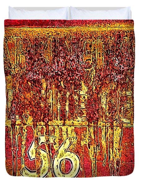 Tarkington Vol Fire Dept 56 Duvet Cover by Bartz Johnson