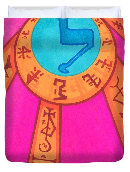 Tarot Card - Eclipse  Duvet Cover