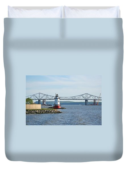 Tarrytown Lighthouse Duvet Cover