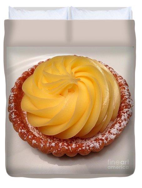 Tarte Citron Dessert Duvet Cover