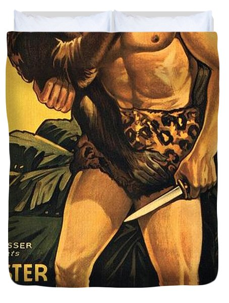 Tarzan The Fearless  Duvet Cover