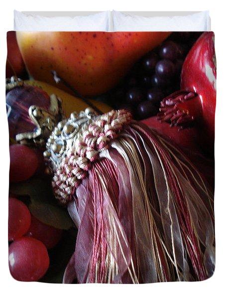 Tassel With Fruit Duvet Cover