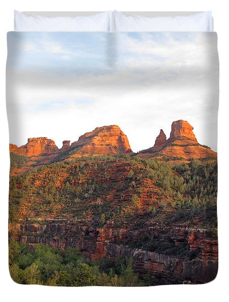 Taste Of Sedona Duvet Cover