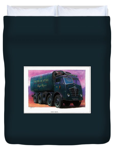 Tate And Lyle Foden. Duvet Cover by Mike  Jeffries