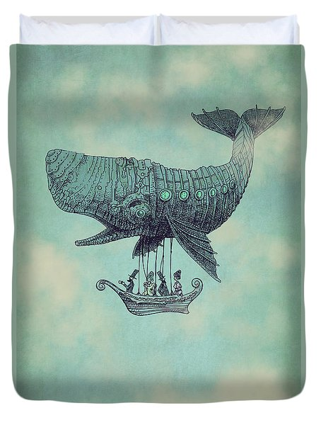 Tea At Two Thousand Feet Duvet Cover by Eric Fan