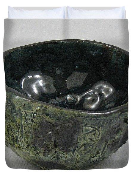 Tea Bowl #5 Duvet Cover