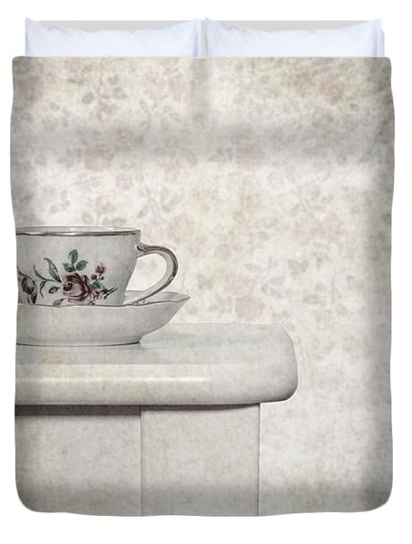 Tea Cup Duvet Cover by Joana Kruse