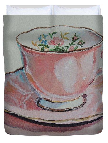 Tea For Me  Sold Duvet Cover
