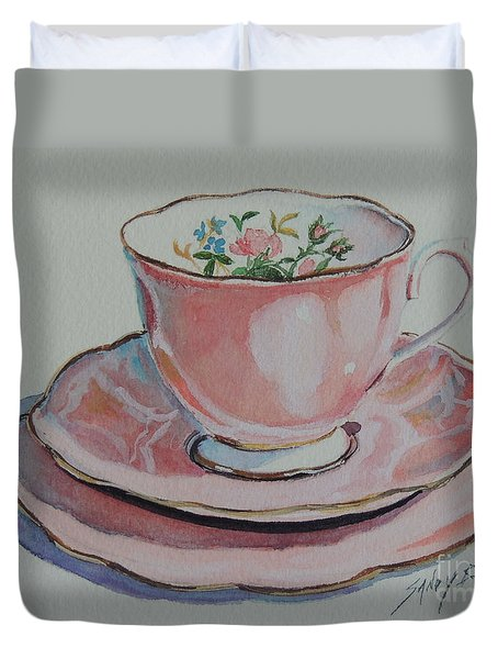 Tea For Me  Sold Duvet Cover