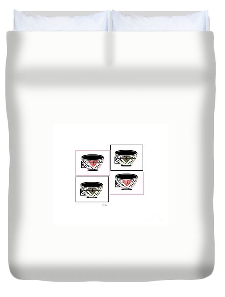 Tea Time 2 Duvet Cover