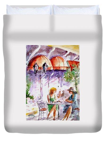 Tea Time...  Duvet Cover by Faruk Koksal
