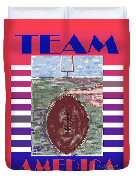 Team America Duvet Cover by Patrick J Murphy