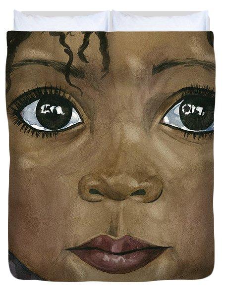 Ebony's Tears Duvet Cover