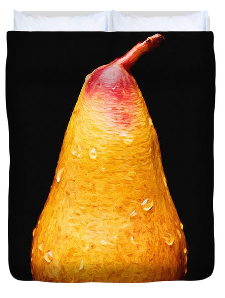 Tears Of A Sad Pear Duvet Cover