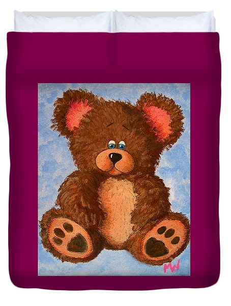 Ted Duvet Cover by Megan Walsh