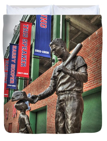 Ted Williams Statue At Fenway Park Photograph By Joann Vitali