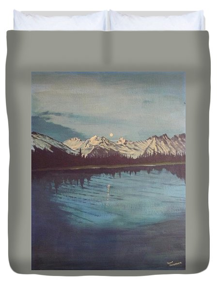 Telequana Lk Ak Duvet Cover by Terry Frederick