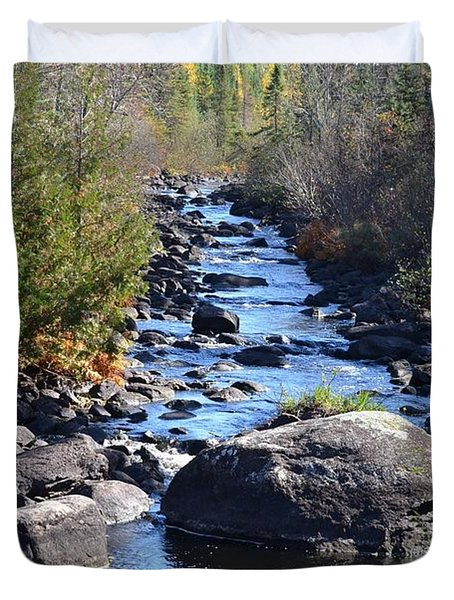 Temperance River Duvet Cover