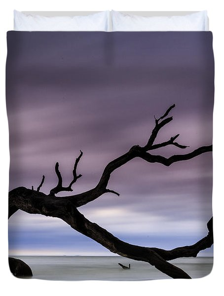 Tempest Tossed Duvet Cover by Fran Gallogly