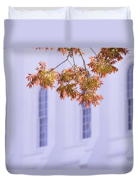 Temple Accent Duvet Cover
