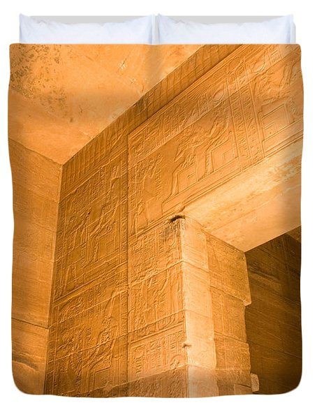 Temple Interior Duvet Cover