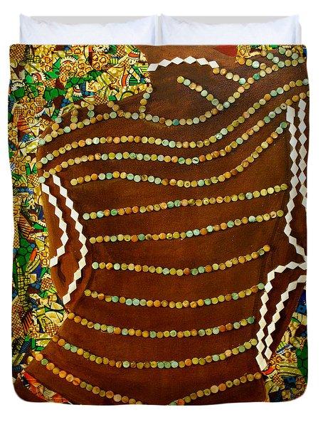 Temple Of The Goddess Eye Vol 2 Duvet Cover