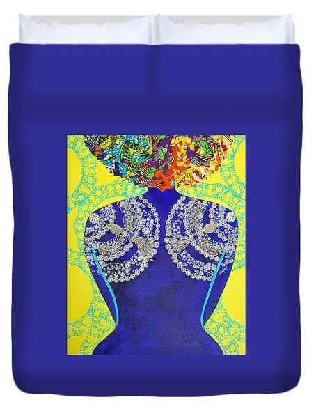 Temple Of The Goddess Eye Vol 3 Duvet Cover