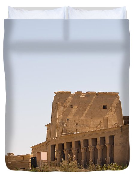 Temple View Duvet Cover
