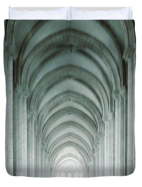 Temple Walker Duvet Cover