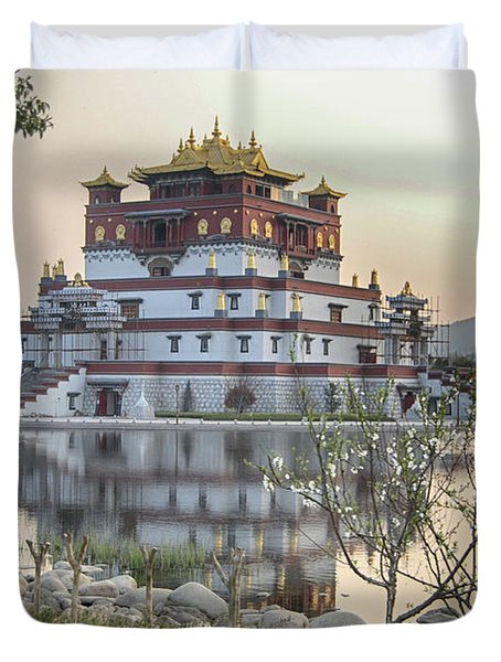 Temple Wuxi China Color Duvet Cover