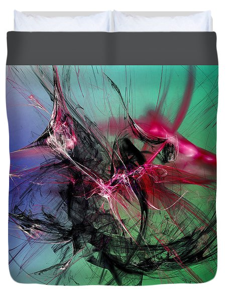 Temporal Information Retrieval Duvet Cover by Jeff Iverson