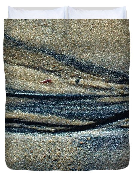 Duvet Cover featuring the photograph Temporary Illusions by Christiane Hellner-OBrien