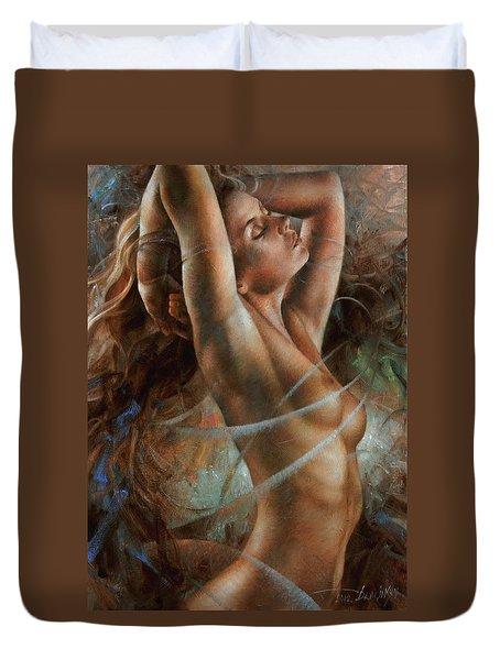 Tenera Duvet Cover by Arthur Braginsky