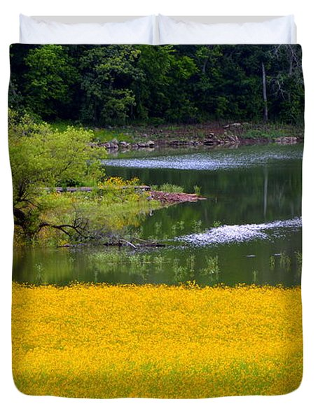 Tennessee Black-eyed Susan Field Duvet Cover