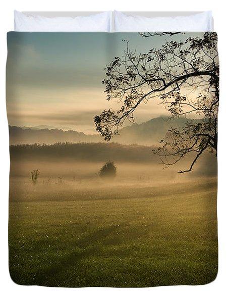 Tennessee Landscape Duvet Cover by Melinda Fawver