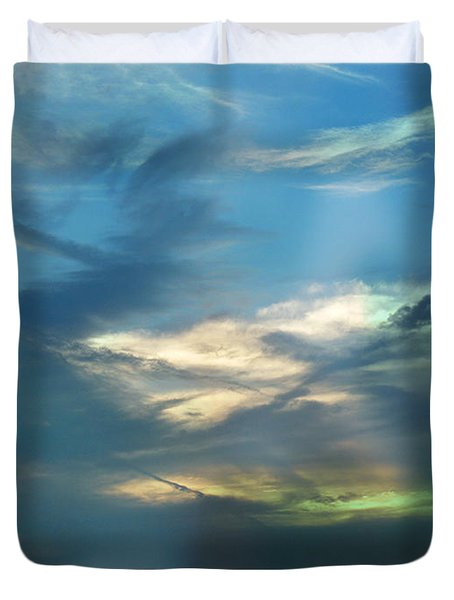 Tennessee Sunset Duvet Cover by EricaMaxine  Price
