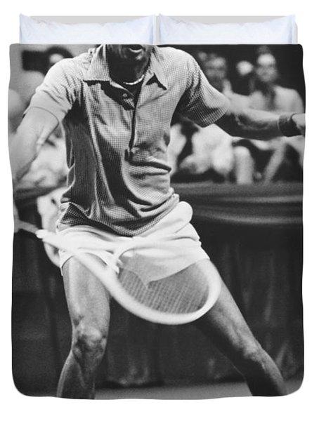 Tennis Champion Arthur Ashe Duvet Cover