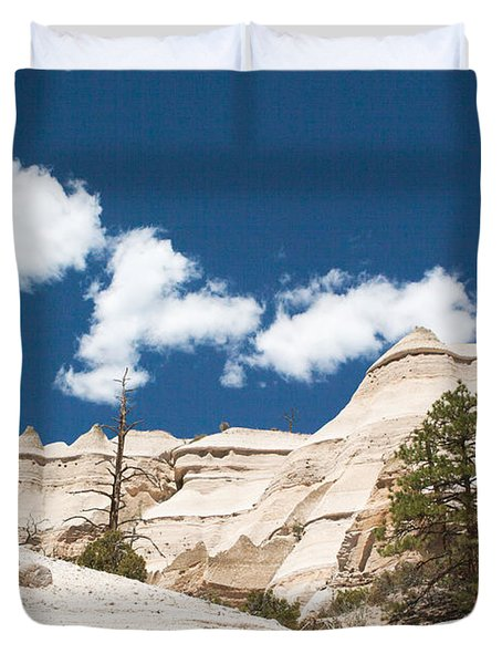 High Noon At Tent Rocks Duvet Cover