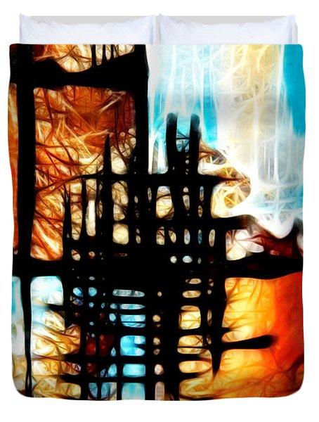 Tequila Sunrise Duvet Cover by Mariola Bitner
