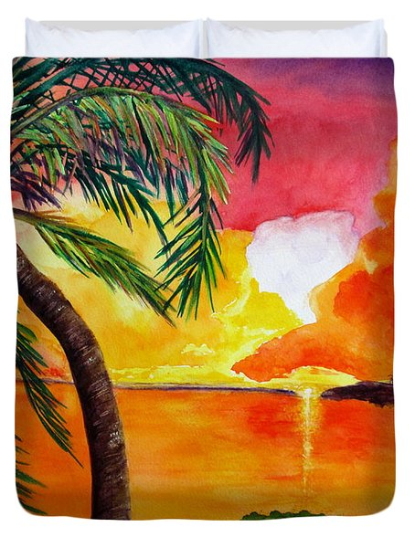 Tequila Sunset Duvet Cover